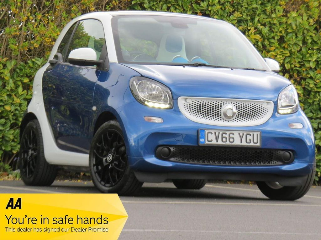 Smart fortwo Coupe 0.9T Proxy (Premium) Twinamic (s/s) 2dr