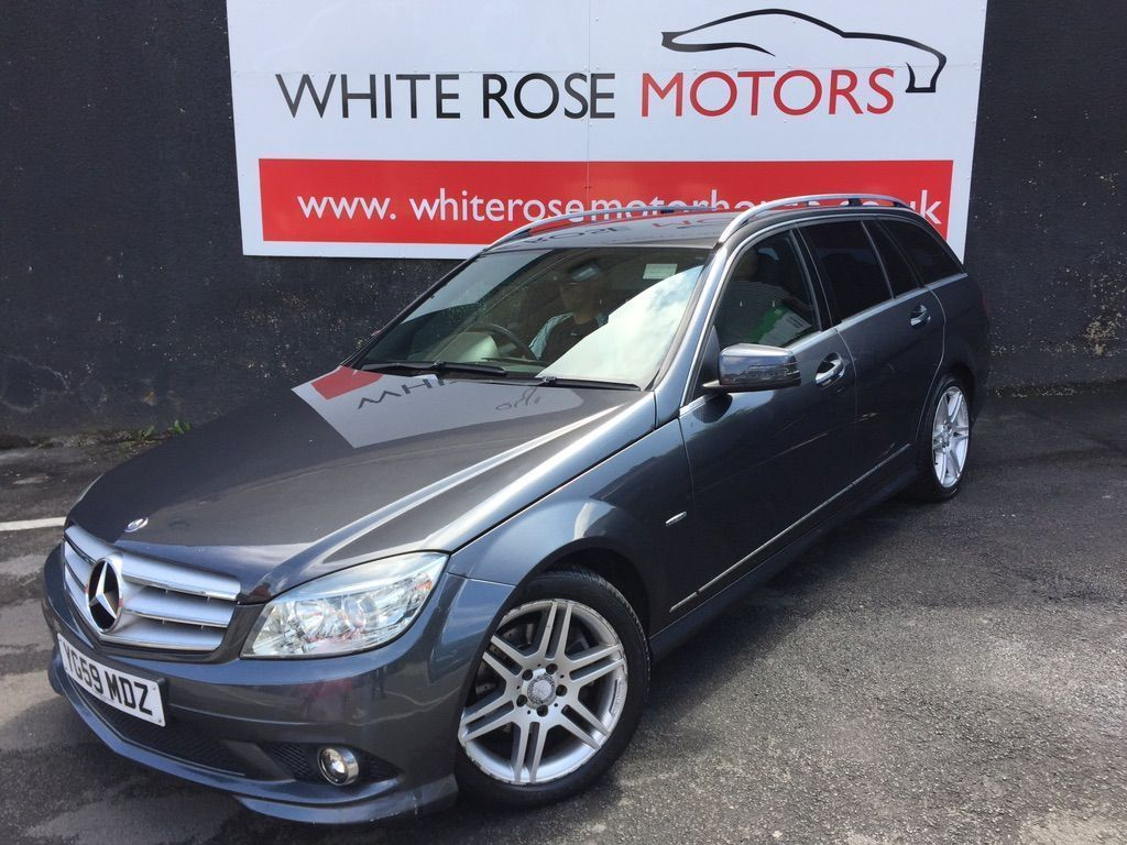 Mercedes-Benz C Class Estate 1.6 C180 BlueEFFICIENCY Kompressor Sport 5dr