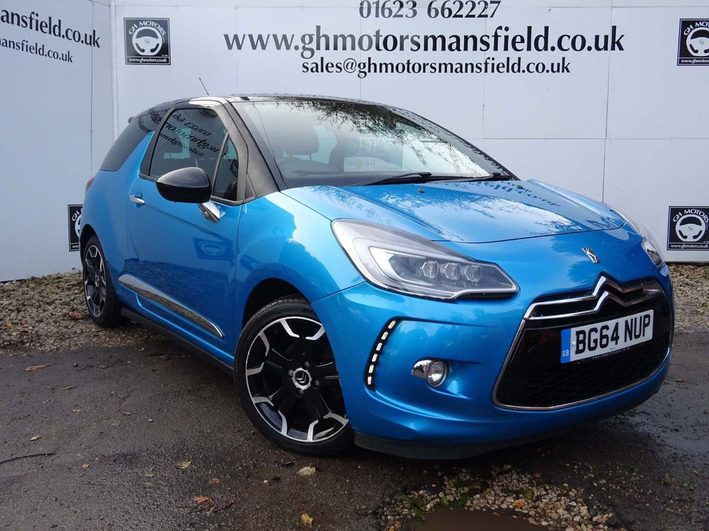 Citroen DS3 Hatchback 1.6 BlueHDi DSport Blue 3dr