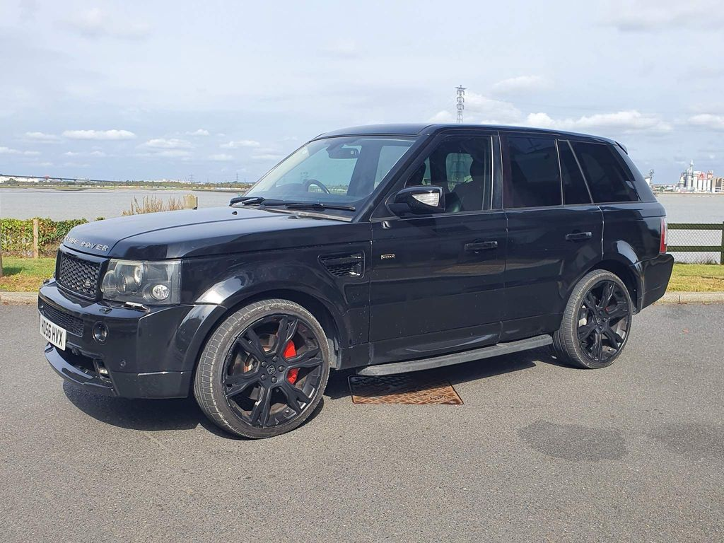 Land Rover Range Rover Sport SUV 4.2 V8 Supercharged HST 5dr