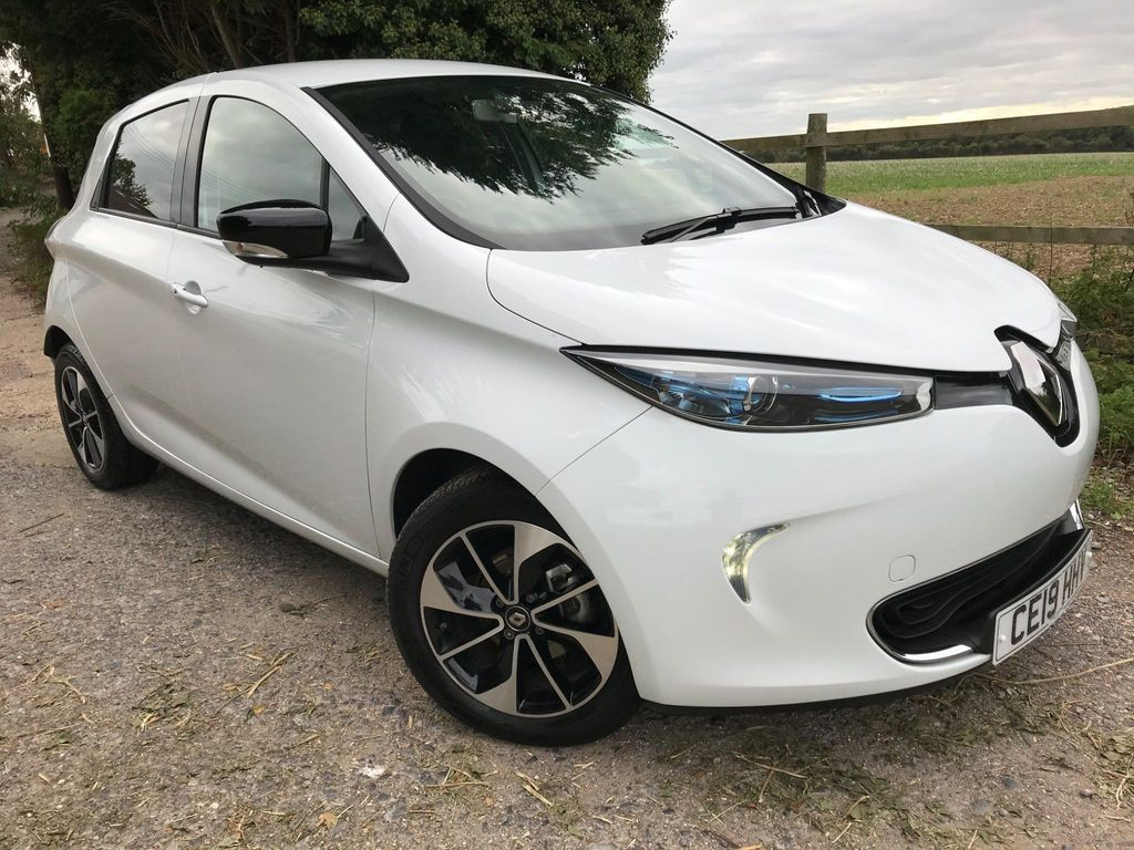 Renault Zoe Hatchback R110 41kWh Dynamique Nav Auto 5dr (Battery Lease)