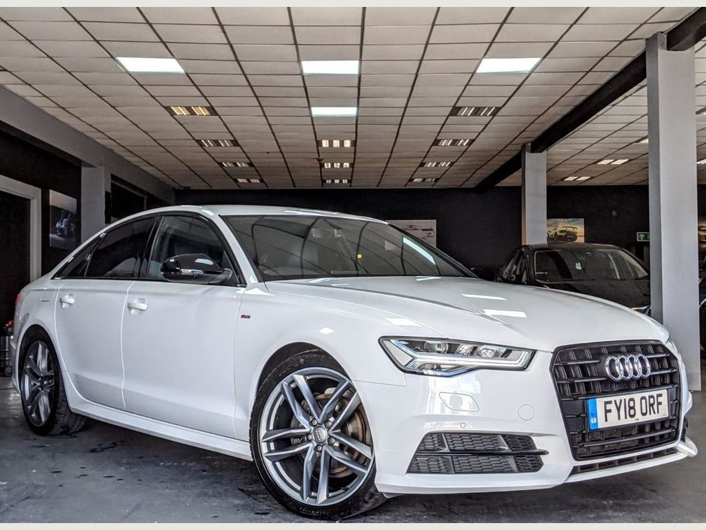 Audi A6 Saloon Saloon 1.8 TFSI Black Edition S Tronic (s/s) 4dr