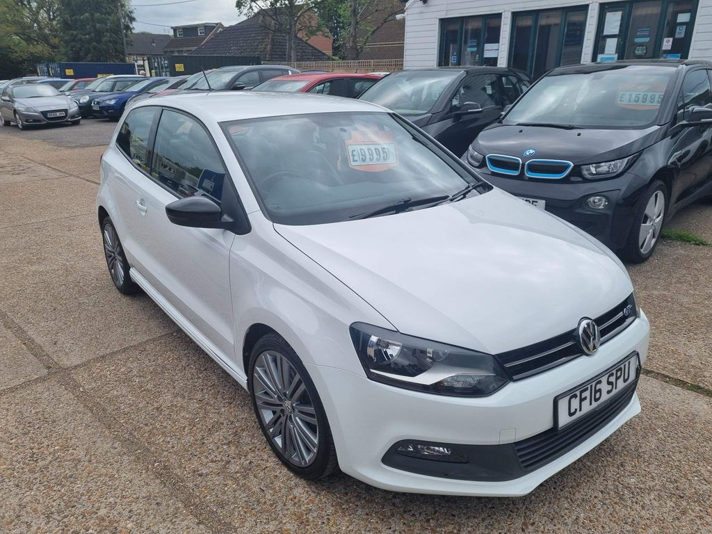 Volkswagen Polo Hatchback 1.4 TSI ACT BlueMotion Tech BlueGT (s/s) 3dr