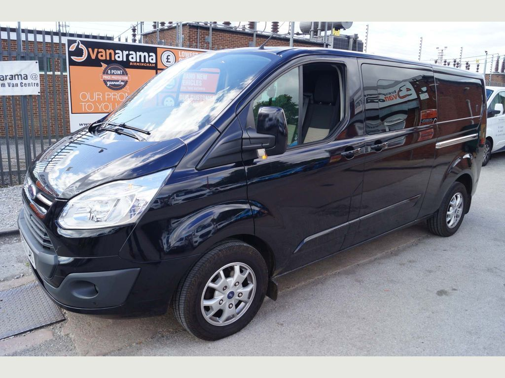 Ford Transit Custom Unlisted DOUBLE-CAB VAN LIMITED 2.2TDCi 125 LWB