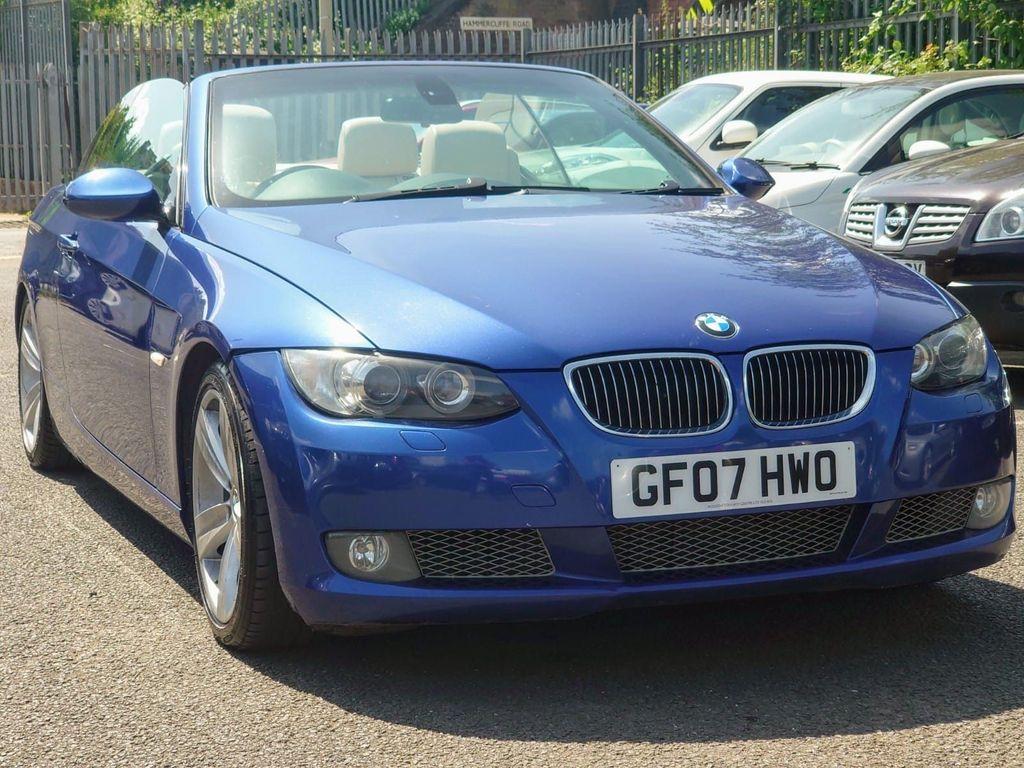 BMW 3 Series Convertible 3.0 335i SE 2dr