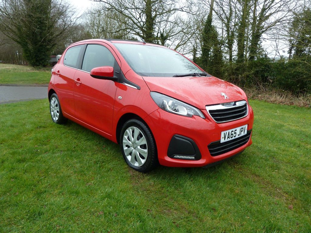 Peugeot 108 Convertible 1.0 VTi Active Top! 5dr