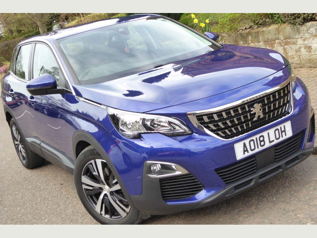 Peugeot 3008 SUV 1.6 BlueHDi Active EAT (s/s) 5dr