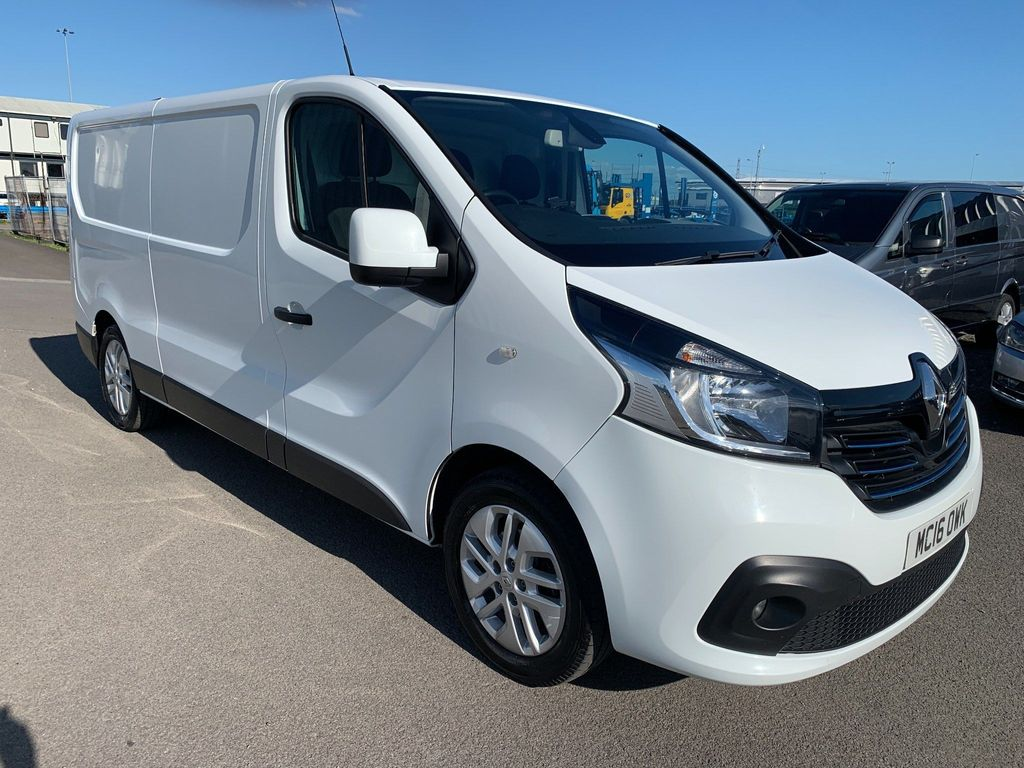 Renault Trafic Panel Van SPORT 1.6DCI NAV LONG WHEEL BASE