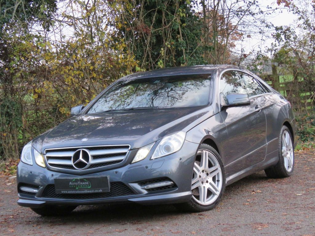 Mercedes-Benz E Class Coupe 2.1 E220 CDI BlueEFFICIENCY Sport G-Tronic 2dr