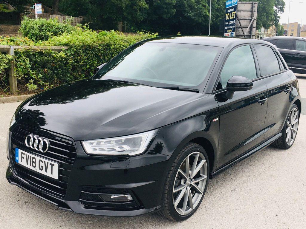 Audi A1 Hatchback 1.6 TDI Black Edition Sportback (s/s) 5dr (Nav)