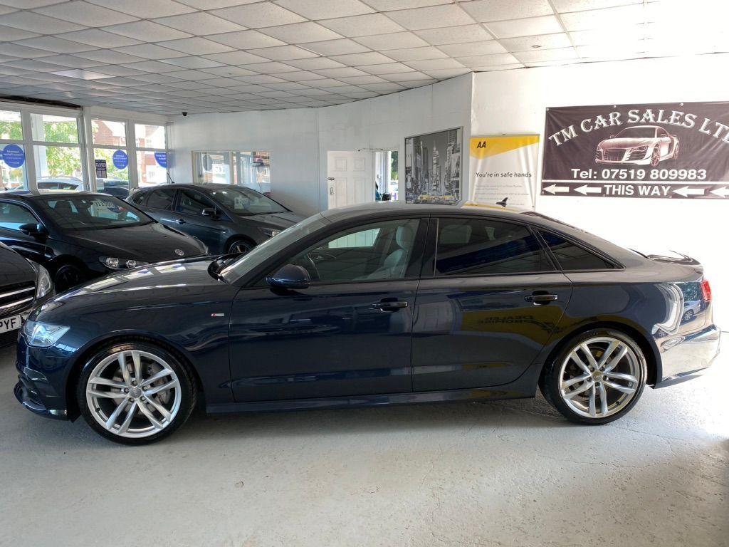 Audi A6 Saloon Saloon 3.0 TDI V6 Black Edition S Tronic quattro (s/s) 4dr