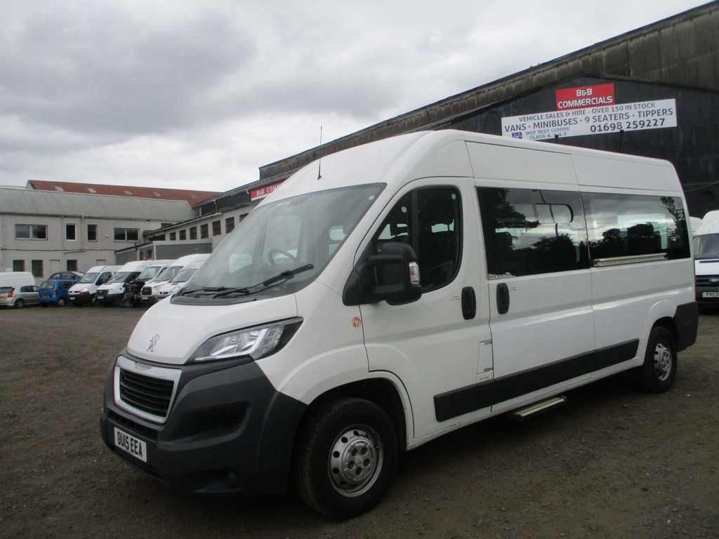PEUGEOT BOXER Minibus 2.2 HDI MINIBUS WITH WHEEL-CHAIR ACCESS