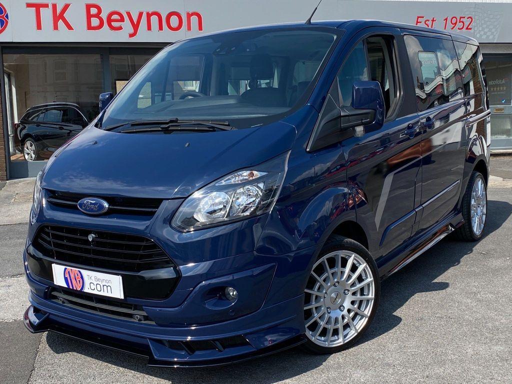 Ford Tourneo Custom Minibus 2.2 TDCi 300 SWB Exclusiv Motorsport Bus