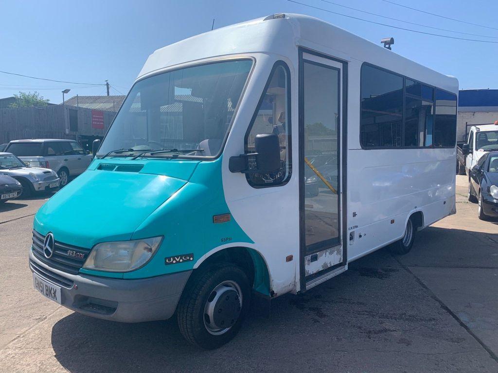 Mercedes-Benz Sprinter Unlisted Camper Motorhome Day Bus Festive Bus