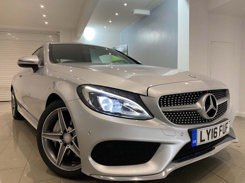 Mercedes-Benz C Class Coupe 2.0 C200 AMG Line 7G-Tronic+ (s/s) 2dr