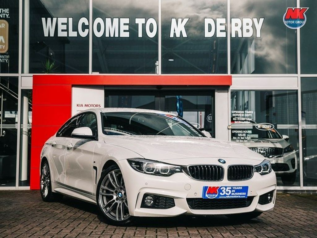 BMW 4 Series Gran Coupe Coupe 2.0 420i GPF M Sport Gran Coupe Auto (s/s) 5dr