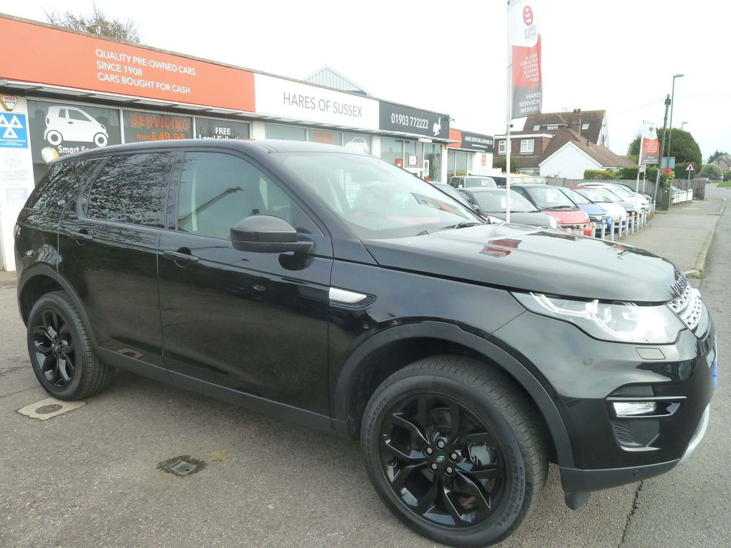 Land Rover Discovery Sport SUV 2.0 SD4 HSE Auto 4WD (s/s) 5dr 7 Seat