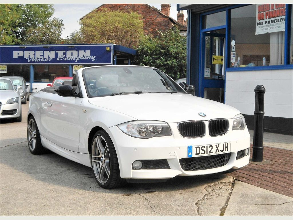 BMW 1 Series Convertible 2.0 118d Sport Plus 2dr