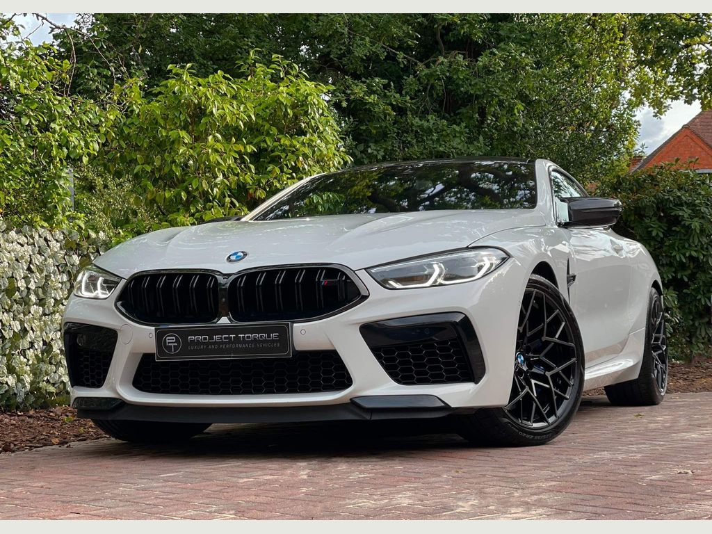 BMW M8 Coupe 4.4i V8 Competition Steptronic 4WD (s/s) 2dr