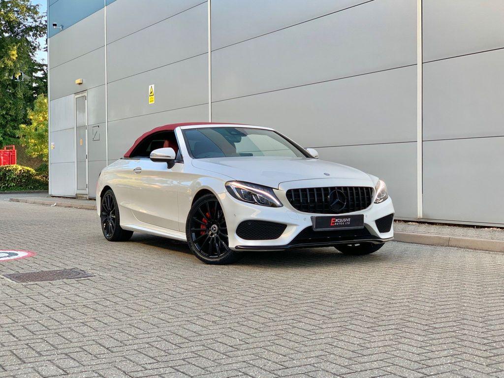Mercedes-Benz C Class Convertible 2.1 C250d AMG Line (Premium Plus) Cabriolet G-Tronic+ (s/s) 2dr