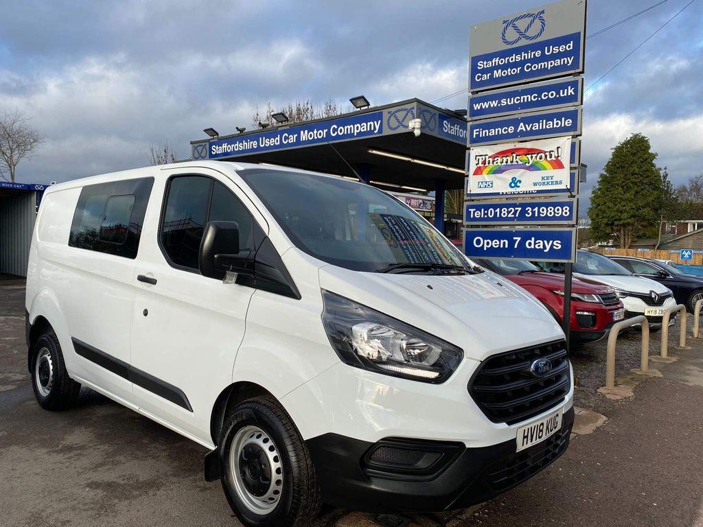 Ford Transit Custom Combi Van 2.0 300 EcoBlue DCIV L1 H1 EU6 5dr (6 Seat)