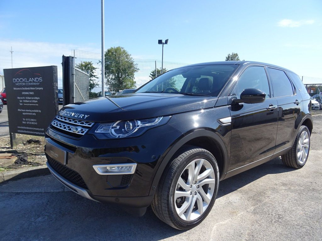 Land Rover Discovery Sport SUV 2.0 SD4 HSE Luxury Auto 4WD (s/s) 5dr 7 Seat