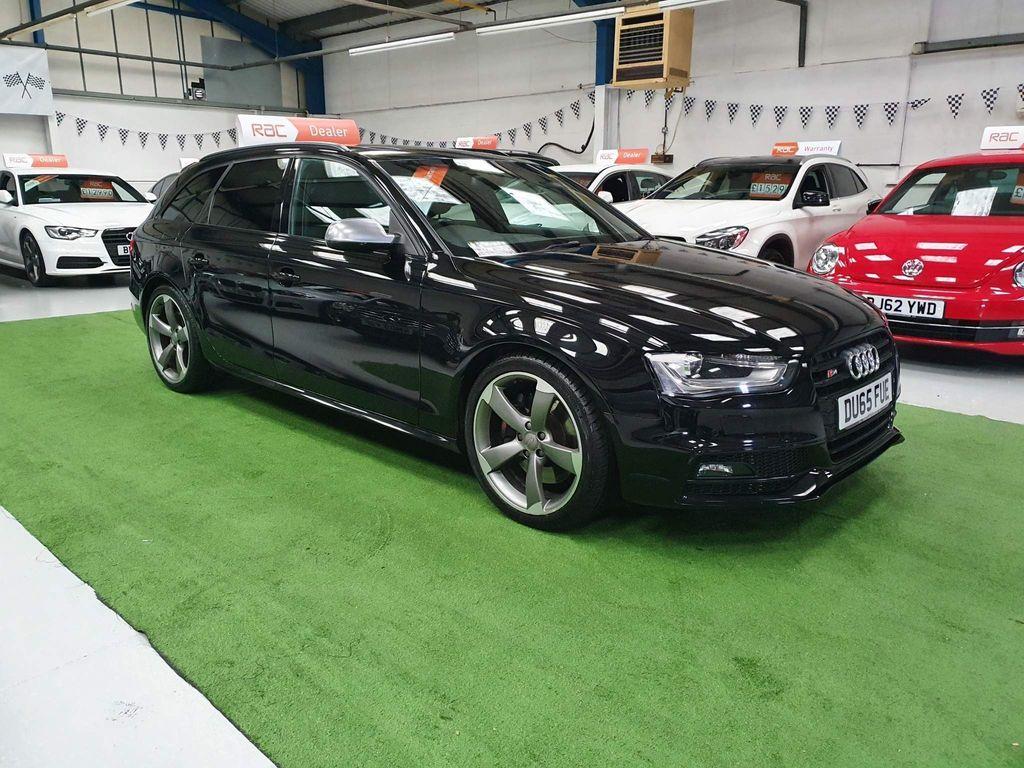 Audi S4 Avant Estate 3.0 TFSI Black Edition Avant S Tronic quattro 5dr (Nav)