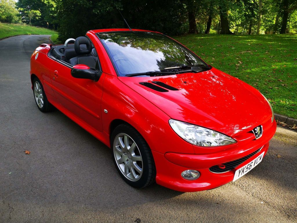 Peugeot 206 CC Convertible 1.6 HDi Allure 2dr