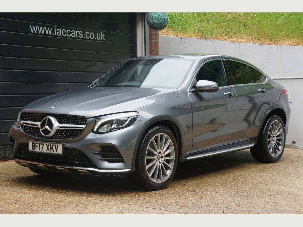 Mercedes-Benz GLC Class Coupe 3.0 GLC350d V6 AMG Line (Premium Plus) G-Tronic+ 4MATIC (s/s) 5dr