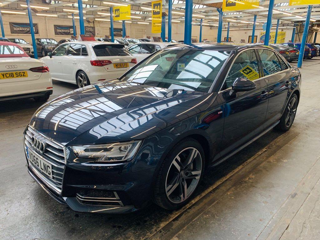 Audi A4 Saloon 2.0 TDI ultra S line S Tronic (s/s) 4dr