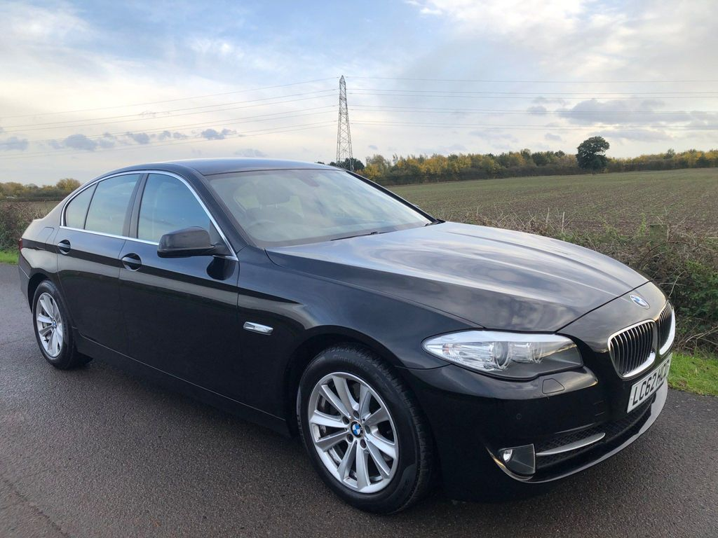 BMW 5 Series Saloon 2.0 520d ED EfficientDynamics 4dr