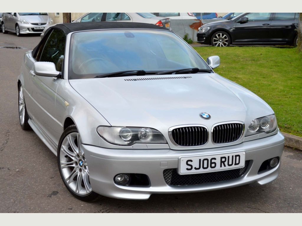 BMW 3 Series Convertible 3.0 330Ci M Sport 2dr