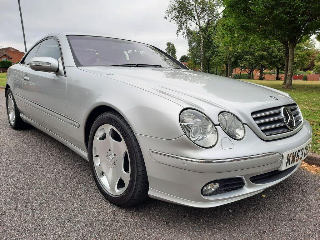 Mercedes-Benz CL Coupe 5.5 CL600 2dr