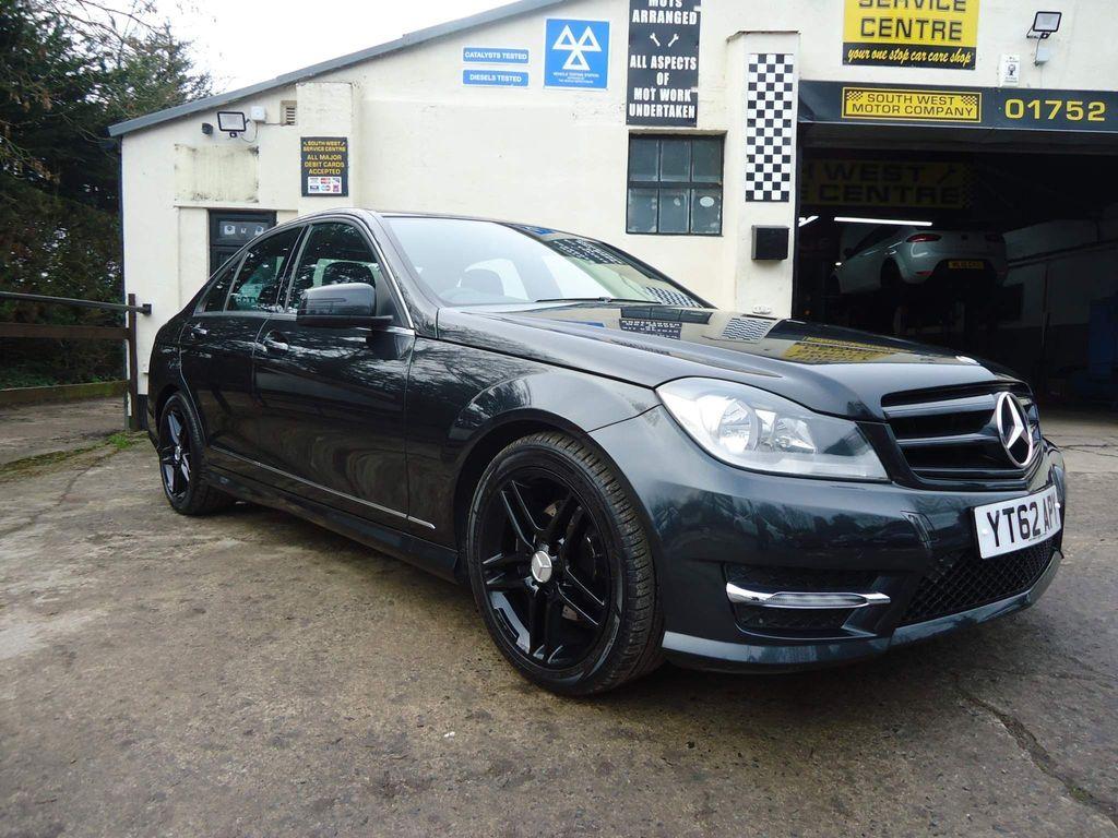 Mercedes-Benz C Class Saloon 2.1 C220 CDI BlueEFFICIENCY AMG Sport 7G-Tronic Plus 4dr (Map Pilot)