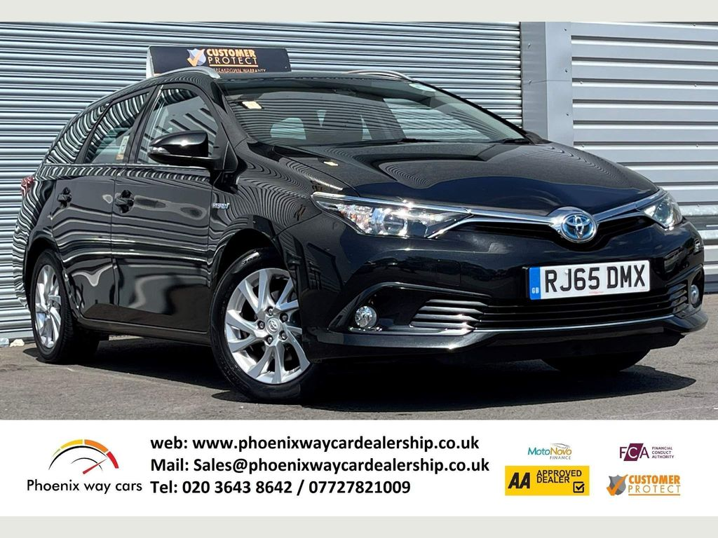 Toyota Auris Estate 1.8 VVT-h Business Edition Touring Sports CVT (s/s) 5dr (Safety Sense)