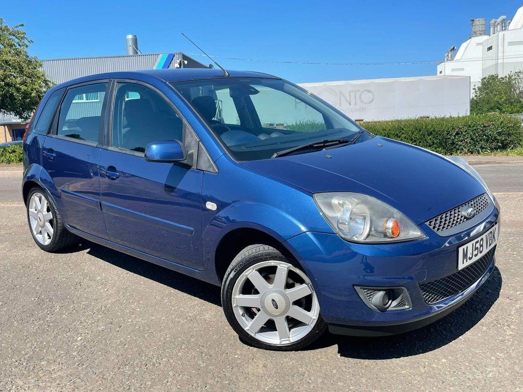 Ford Fiesta Hatchback 1.4 Zetec Blue Edition 5dr
