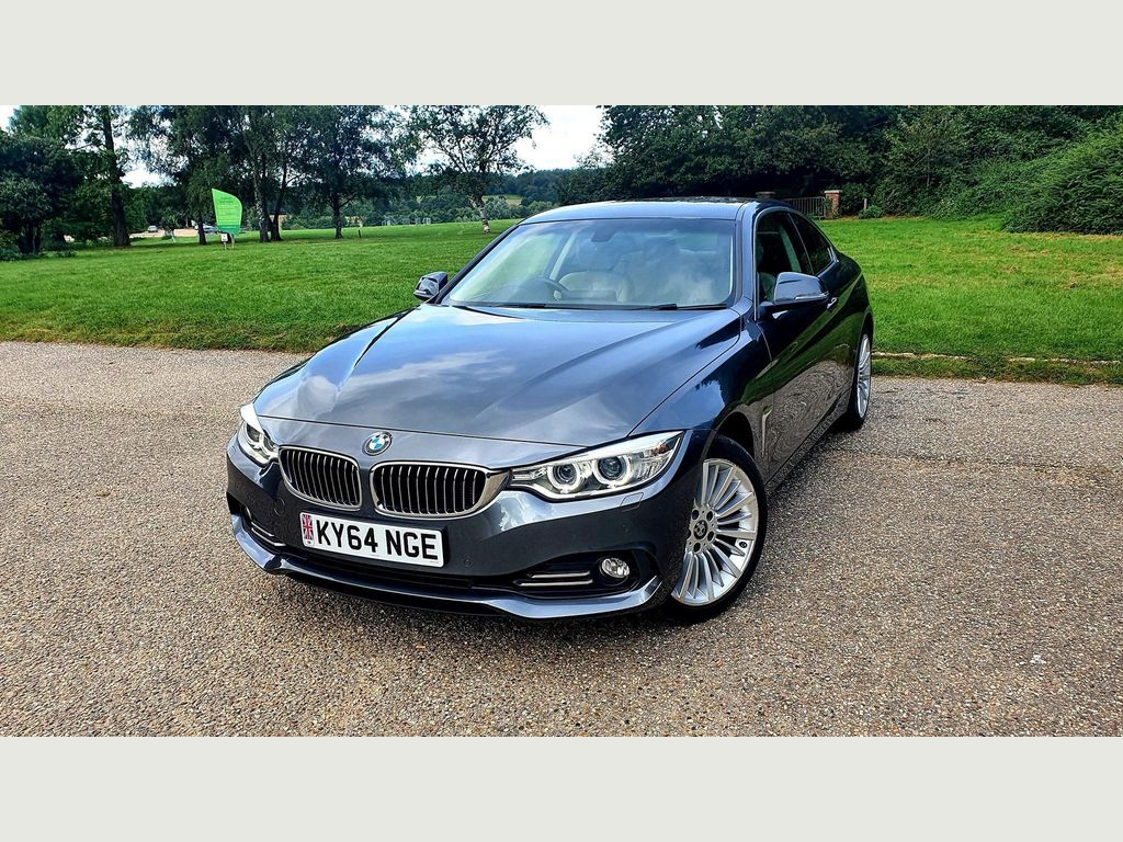 BMW 4 Series Coupe 2.0 420i Luxury Auto xDrive (s/s) 2dr
