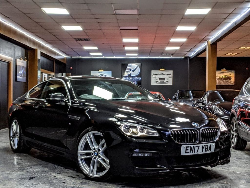 BMW 6 Series Coupe 3.0 640d M Sport Steptronic (s/s) 2dr
