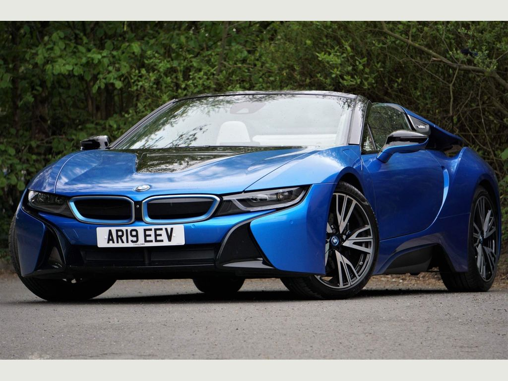 BMW i8 Convertible 1.5 11.6kWh Roadster Auto 4WD (s/s) 2dr