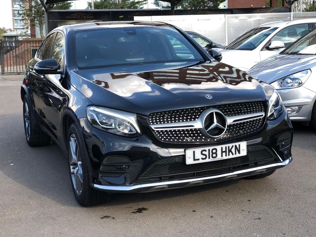 Mercedes-Benz GLC Class Coupe 2.0 GLC250 AMG Line G-Tronic 4MATIC (s/s) 5dr