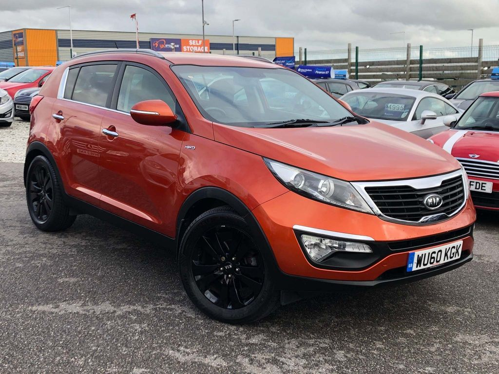 Kia Sportage SUV 2.0 CRDi First Edition AWD 5dr