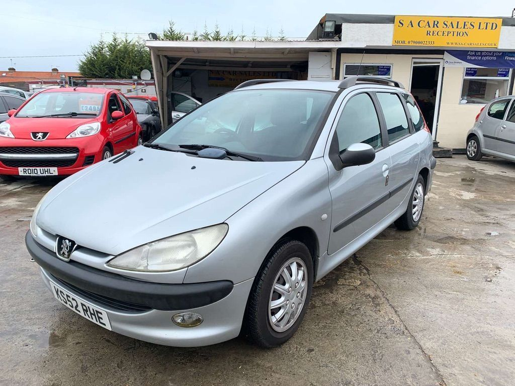 Peugeot 206 SW Estate 1.4 XT 5dr