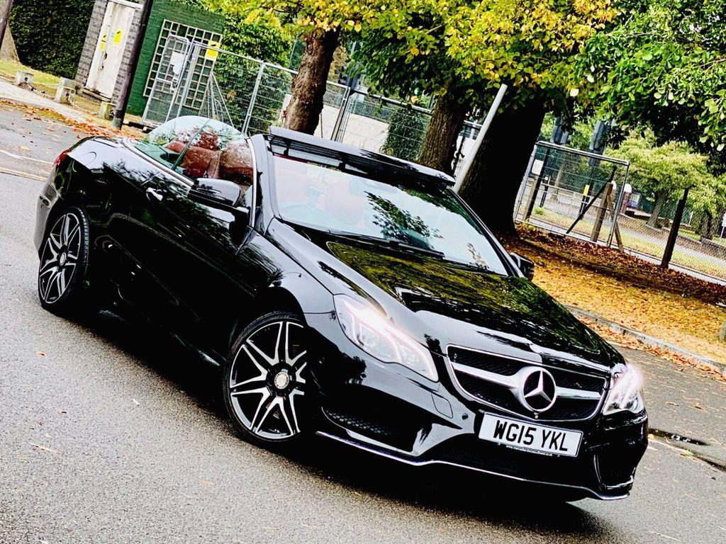 Mercedes-Benz E Class Convertible 3.0 E400 AMG Line Cabriolet 7G-Tronic Plus 2dr