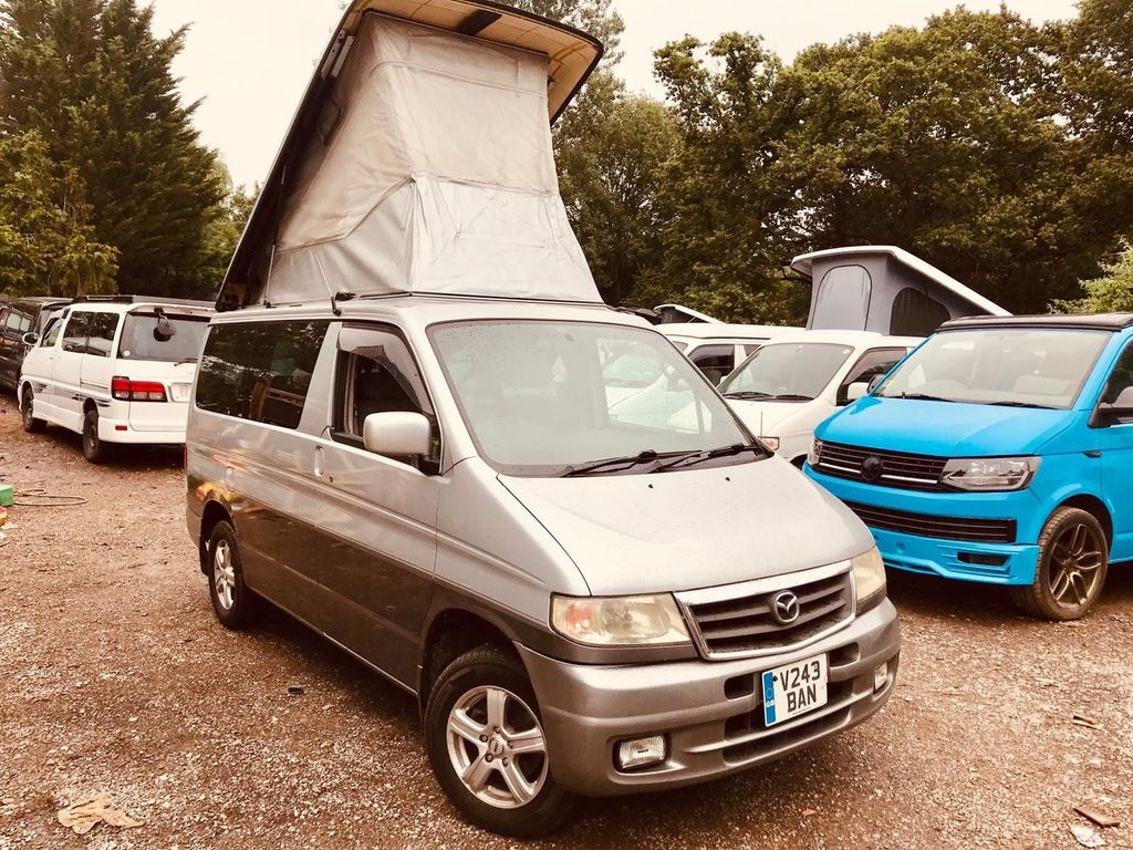 Mazda BONGO AFT 4 BERTH 8 SEATER REAR KITCHEN UNIT Campervan
