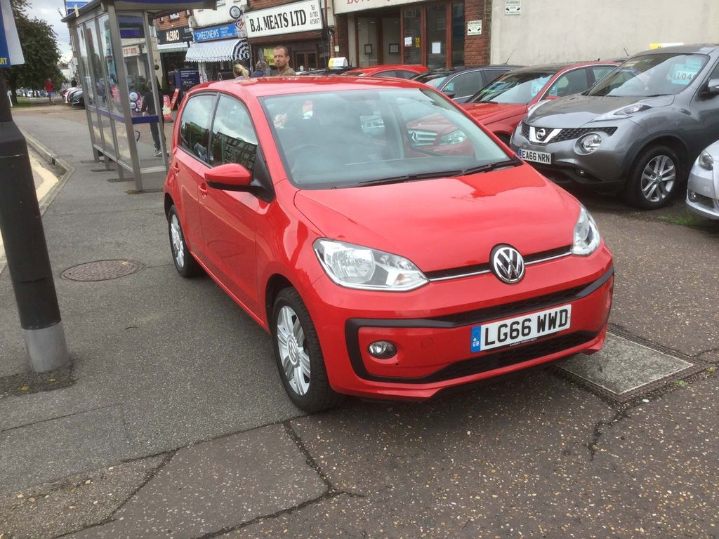 Volkswagen up! Hatchback 1.0 BlueMotion Tech High up! ASG (s/s) 5dr