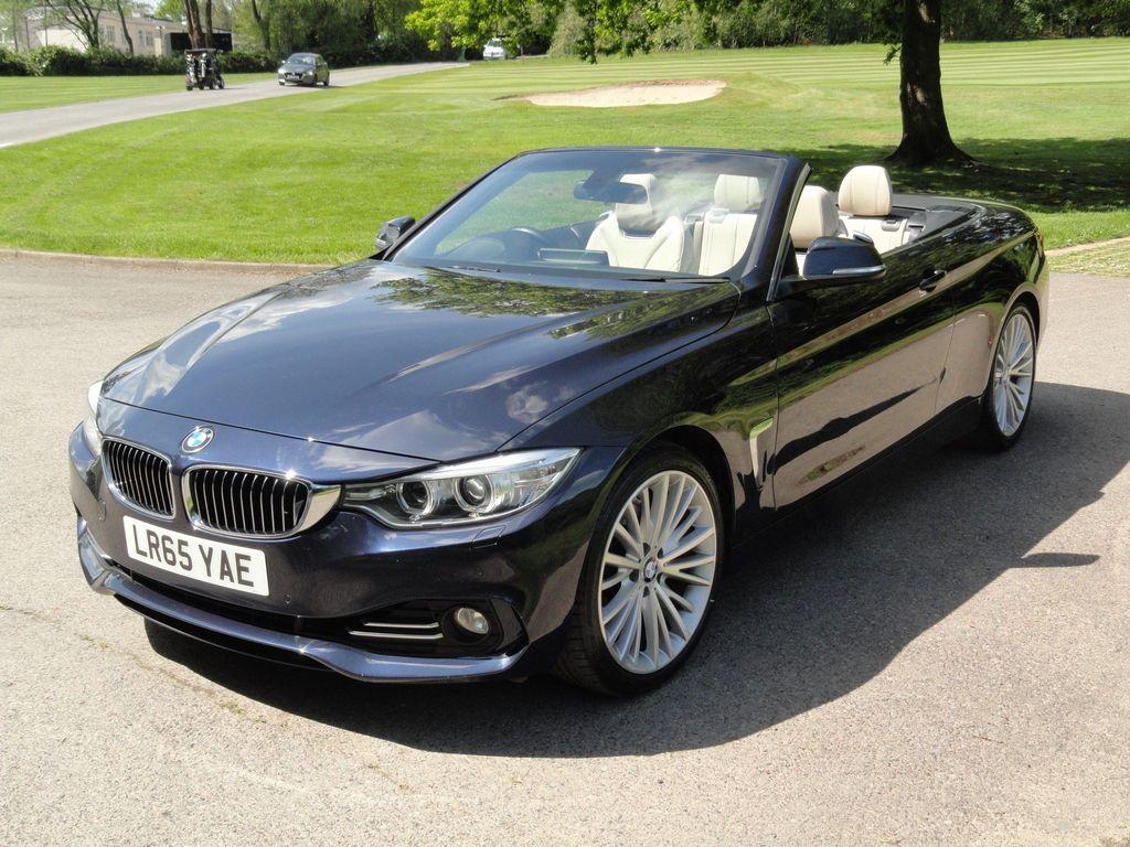 BMW 4 Series Convertible 2.0 428i Luxury Auto 2dr