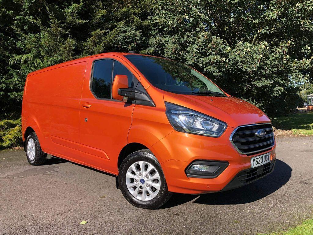 Ford Transit Custom Panel Van 2.0 300 EcoBlue Limited L2 H1 EU6 (s/s) 5dr