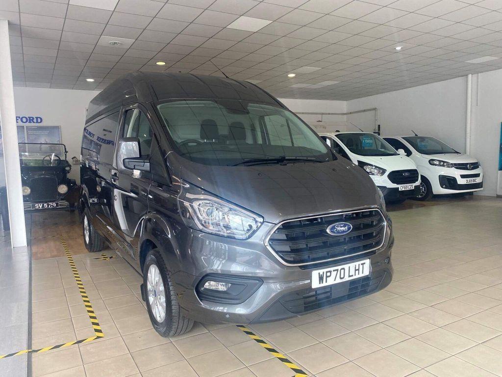 Ford Transit Custom Panel Van 2.0 320 EcoBlue Limited Auto L2 H2 EU6 (s/s) 5dr