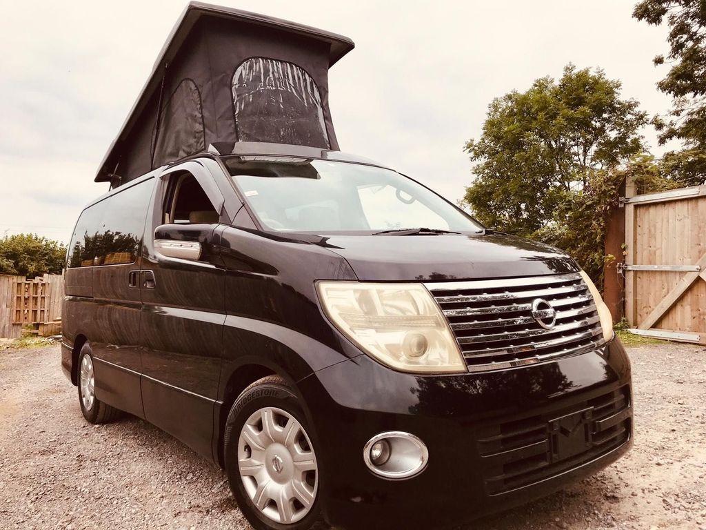 Nissan ELGRAND POP TOP 4 BERTH NEW FULL CONVERSION 5 Campervan SEATER 4WD PETROL