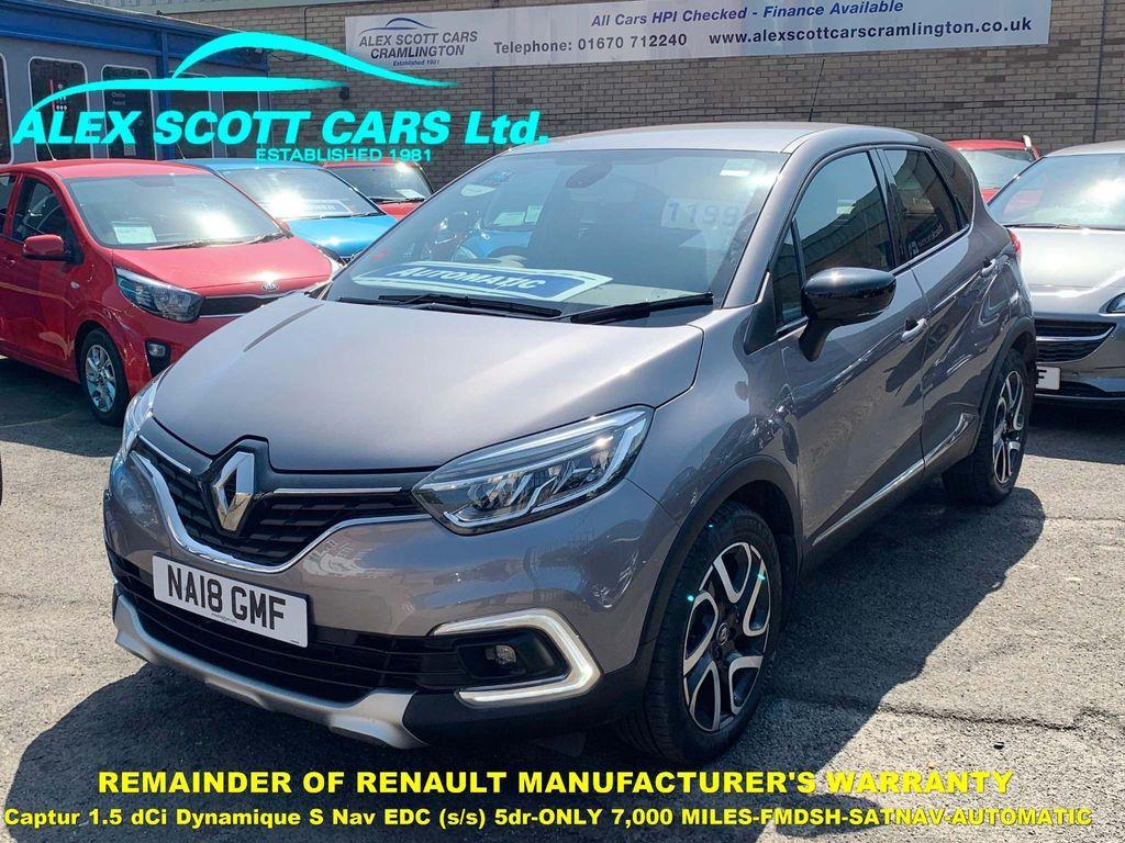 Renault Captur SUV 1.5 dCi Dynamique S Nav EDC (s/s) 5dr